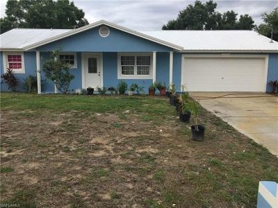 Lehigh Acres FL Single Family Home Pending With Contingencies: $159,000