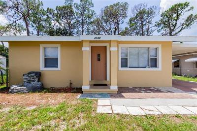 Fort Myers Single Family Home For Sale: 2130 Earl Rd