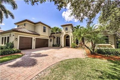Naples Single Family Home For Sale: 14648 Beaufort Cir