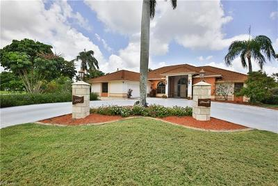 Cape Coral Single Family Home For Sale: 5207 SW 5th Pl