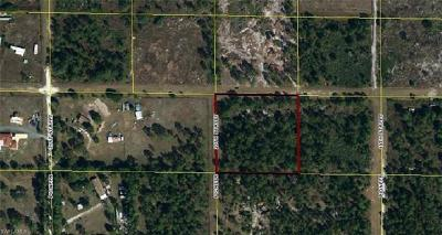Clewiston FL Residential Lots & Land For Sale: $28,000