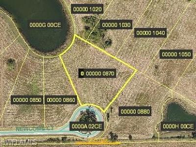 Alva Residential Lots & Land For Sale: 2028 Newcomb Ct
