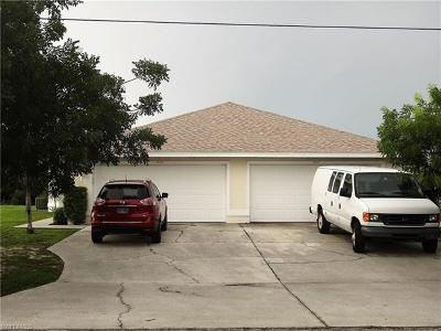 Cape Coral Multi Family Home For Sale: 1415 And 1417 SE 10th Ter
