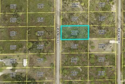 Residential Lots & Land For Sale: 1412 Edison Ave