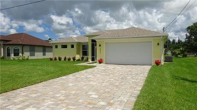 Cape Coral Single Family Home For Sale: 1623 SW 13th Ter
