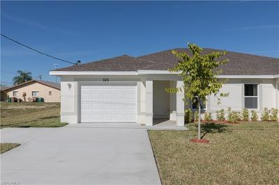 Cape Coral Condo/Townhouse For Sale: 723 SW 40th Ter