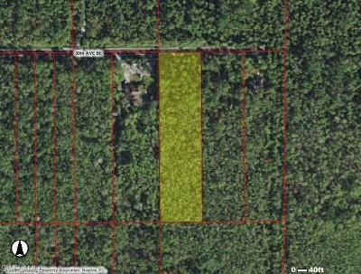 Collier County Residential Lots & Land For Sale: 4870 30th Ave SE