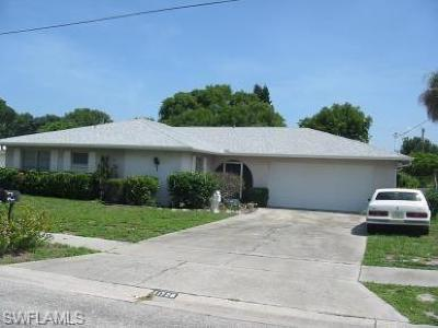 Cape Coral, Fort Myers, Estero, Babcock Ranch, Miromar Lakes, North Fort Myers Single Family Home Pending With Contingencies: 1728 W Bluewater Ter