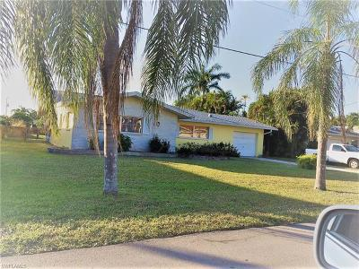 Cape Coral, Matlacha, North Fort Myers Single Family Home For Sale: 5320 Coral Ave