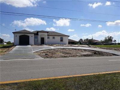 Cape Coral Single Family Home For Sale: 2223 Nelson Rd N