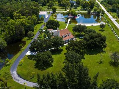 Cape Coral Single Family Home For Sale: 16710 Sanctuary Estates Dr