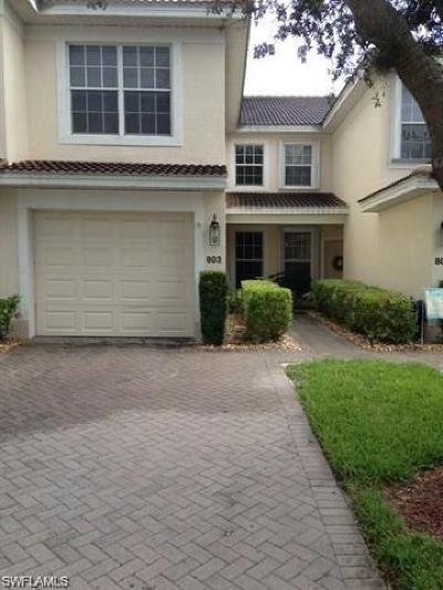 Fort Myers Rental For Rent: 11631 Marino Ct #803