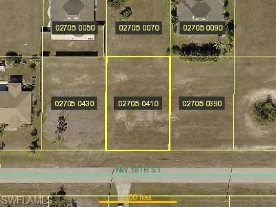 Cape Coral Residential Lots & Land For Sale