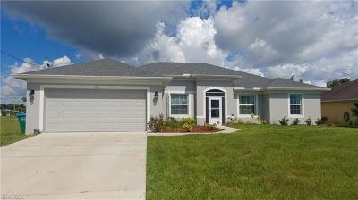 Cape Coral Single Family Home For Sale: 1617 NW 31st Pl