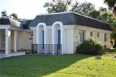 Lehigh Acres Condo/Townhouse For Sale: 1 Park Lane Cir