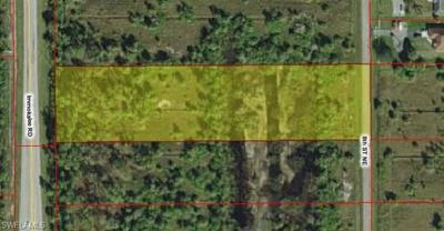 Naples Residential Lots & Land For Sale: Tbd Immokalee Rd