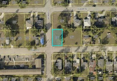 Fort Myers Residential Lots & Land For Sale: Thomas St