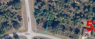 Glades County Residential Lots & Land For Sale: E Benbow Cir