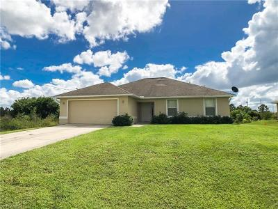 Lehigh Acres Single Family Home For Sale: 3709 26th St SW