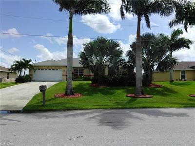 Cape Coral FL Single Family Home For Sale: $270,000