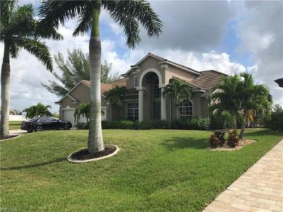 Cape Coral Single Family Home For Sale: 2825 NW 45th Ave