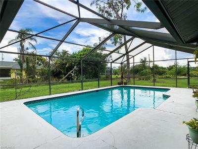 Fort Myers FL Single Family Home For Sale: $278,000