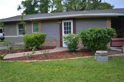 North Fort Myers Single Family Home For Sale: 1421 Keuka Ave