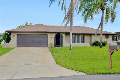 Cape Coral Single Family Home For Sale: 1201 SE 32nd Ter