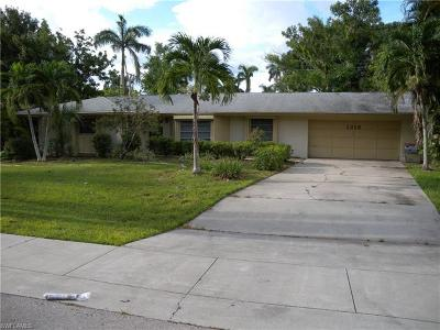 Fort Myers Single Family Home For Sale: 1315 Alhambra Dr