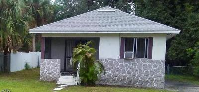 Fort Myers Single Family Home For Sale: 3218 C St