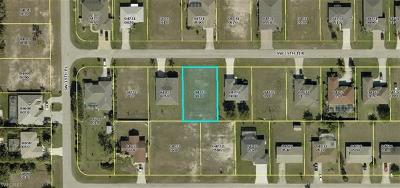 Cape Coral FL Residential Lots & Land For Sale: $43,500
