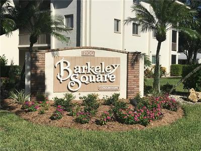 Collier County, Charlotte County, Lee County Condo/Townhouse For Sale: 2079 Barkeley Ln #2