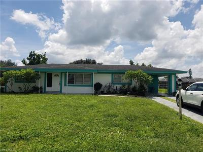 Lehigh Acres Single Family Home For Sale: 1504 Grandale St