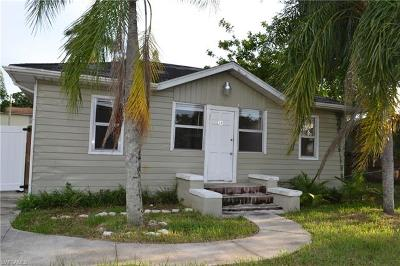 North Fort Myers Single Family Home For Sale: 39 Cypress St