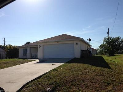 Cape Coral Single Family Home For Sale: 1110 NE 6th Pl