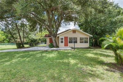 Fort Myers Single Family Home For Sale: 1830 Braman Ave #AE
