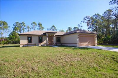 Lehigh Acres Single Family Home For Sale: 3602 39th St SW