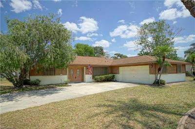 Fort Myers Single Family Home For Sale: 667 Astarias Cir