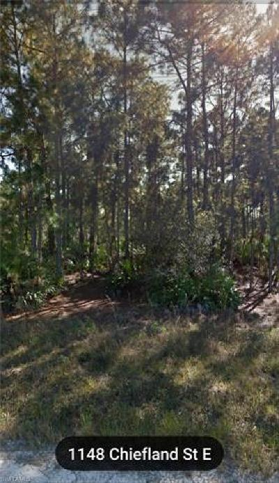 Lehigh Acres Residential Lots & Land For Sale: 1148 Chiefland St E