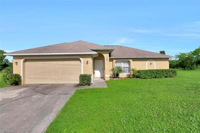 Cape Coral Single Family Home For Sale: 121 Cultural Park Blvd N