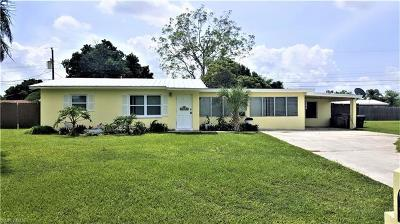 Lehigh Acres Single Family Home For Sale: 204 E Jasmine Rd