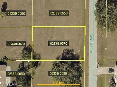 Cape Coral Residential Lots & Land For Sale: 2732 NE 7th Ave