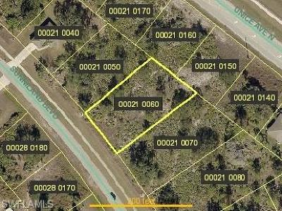 Lee County Residential Lots & Land For Sale: 2508 Sunniland Blvd
