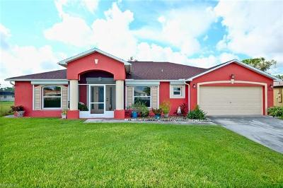 Lehigh Acres Single Family Home For Sale: 4809 4th St W