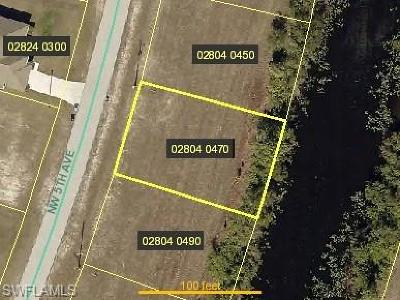 Cape Coral Residential Lots & Land For Sale: 2925 NW 5th Pl
