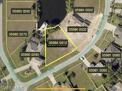 Lee County Residential Lots & Land For Sale: 2563 SW 26th Ter