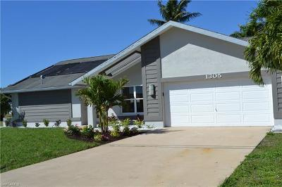 Cape Coral Single Family Home For Sale: 1305 SE 23rd Ter
