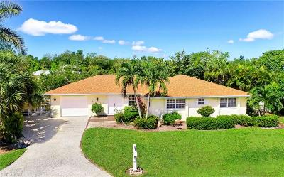 Sanibel Single Family Home For Sale: 1755 Jewel Box Dr