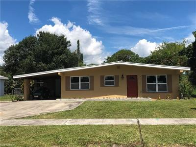 Fort Myers Single Family Home For Sale: 1861 Collier Ave