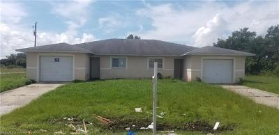 Lehigh Acres Multi Family Home For Sale: 2401 Xelda Ave N